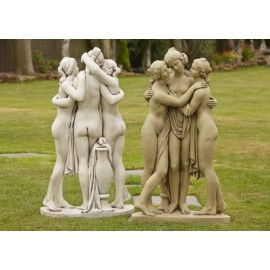 The Three Graces Statues
