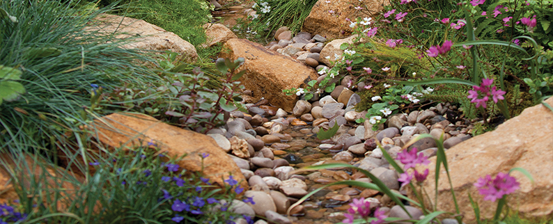 Decorative gravel, stone and chippings from Supreme Landscaping Products