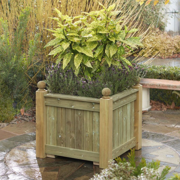 Quality wooden planter