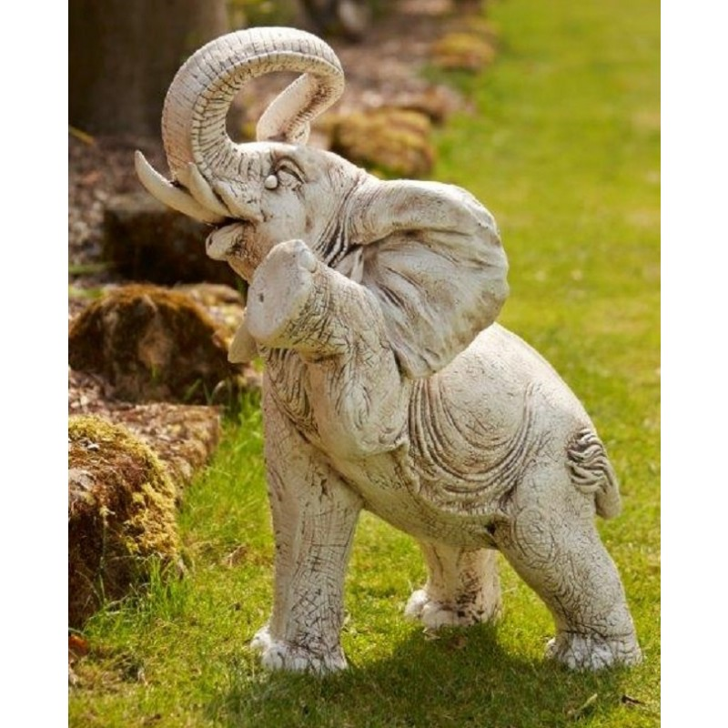 Large Lucky Elephant Statue