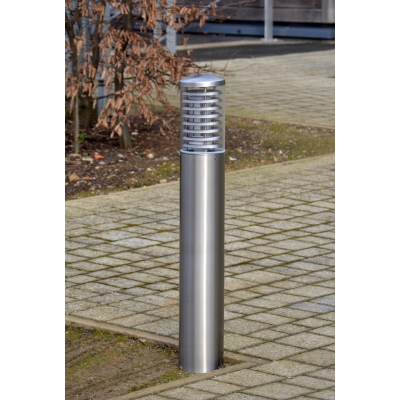 Stelled commercial led bollard light 08m or 1m marine grade modern commercial bollard lighting aloadofball Choice Image