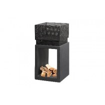 Clay Fibre Console Square - Fire Bowls - Granite