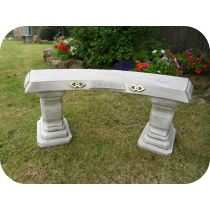 Japanese Curved Bench