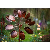 Wisley Burnished Gold Wind Sculpture