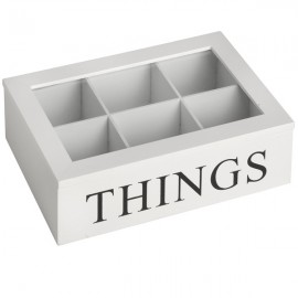 Things Box with Glass Lid