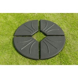 Four Part Black Cantilever Base 80kg