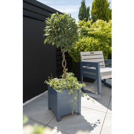 Galaxy Square Planter 35x35cm - Blue Eucalyptus FSC