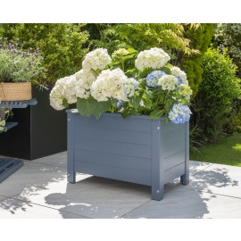 Galaxy Rectangular Planter 35x60cm - Blue Eucalyptus FSC
