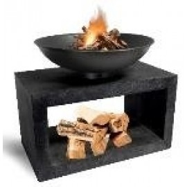 Firebowl & Rectangle Console - Granite