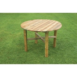Abbey Wooden Round Table