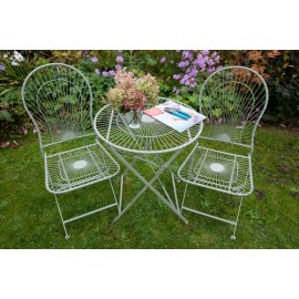 Antibe 2 Folding Square back chairs