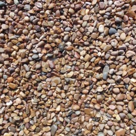 Deco-Pak Brown and Cream Gravel - Wet - Bulk Bag