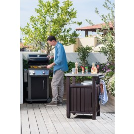 BBQ Outdoor Utility Table/Storage - Single