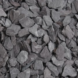 Blue Slate Mulch Chippings