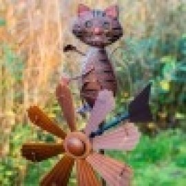 Cat Wind Sculpture
