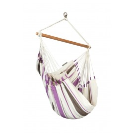 Caribeña Purple Cotton Basic Hammock Chair