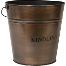 Copper Kindling Bucket 30cm