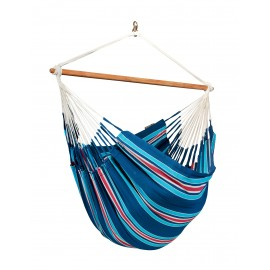 Currambera Blueberry - Cotton Lounger Hammock Chair