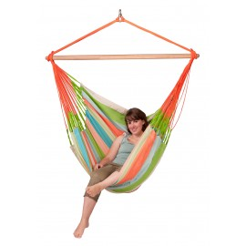Domingo Coral  - Lounger Hammock Chair Outdoor