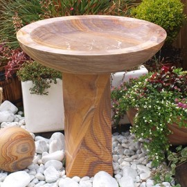 Eastern Stone  Large bird bath