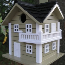Surf City Beach House - Green Birdhouse