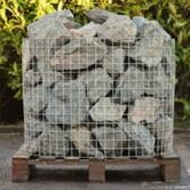 Green Granite Rockery Stone