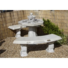 3 Piece Japanese Patio Set