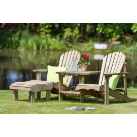 Lily Relax Double Seat with optional foot stool