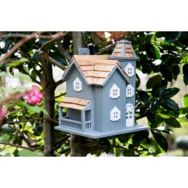 Little Manor - Blue Birdhouse