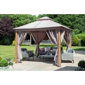 Luxury Gazebo with LED Lights