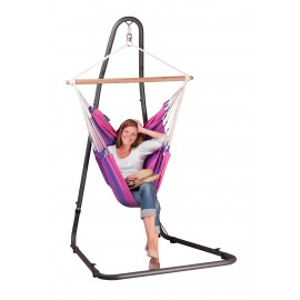 Mediterráneo Anthracite - Powder Coated Steel Stand for Basic Hammock Chairs