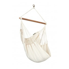 Modesta Latte - Organic Cotton Basic Hammock Chair
