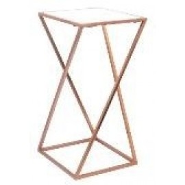 Marble top table - Copper - 61cm