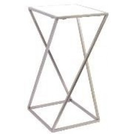 Marble top table - Pewter - 61cm