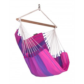 Orquídea Purple Cotton Basic Hammock Chair