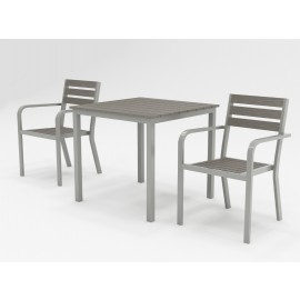 Sorrento square Bistro 2 seat set