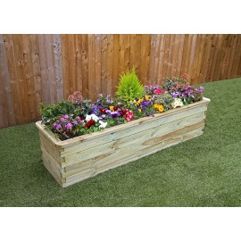 Sleeper Raised Flower Bed