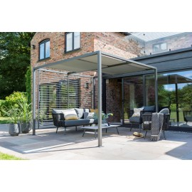 Sliding Roof Gazebo