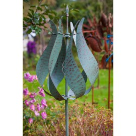 Jubilee Verdigris Wind Sculpture