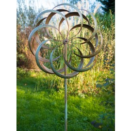 Granchester Verdigris 2 Piece Wind Sculpture