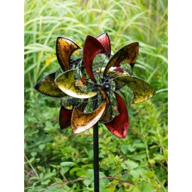 Butterfly Swirl Wind Sculpture
