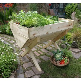 Wooden Veg Bed 1 metre