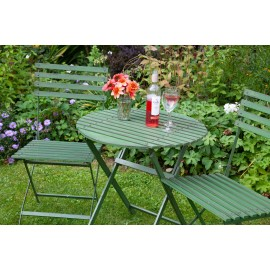 Wimbledon Folding Round Table 70cm