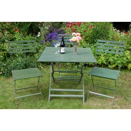 Wimbledon Folding square table