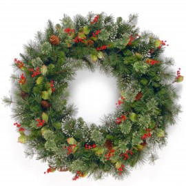 "Woodbury Pine 36"" Artificial Wreath"