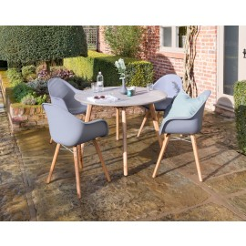 Zari 4 Seat round table set