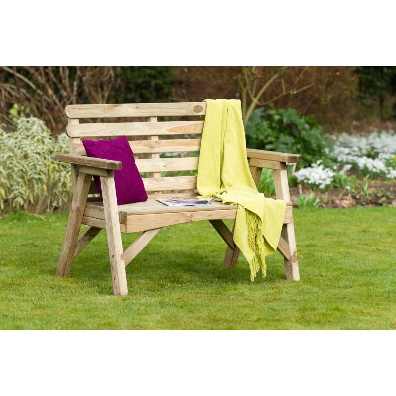 Abbey 2 seat garden bench