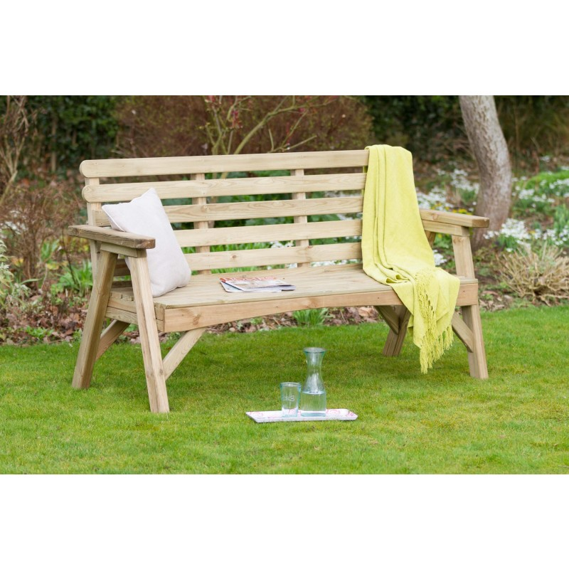 Abbey 3 seat garden bench