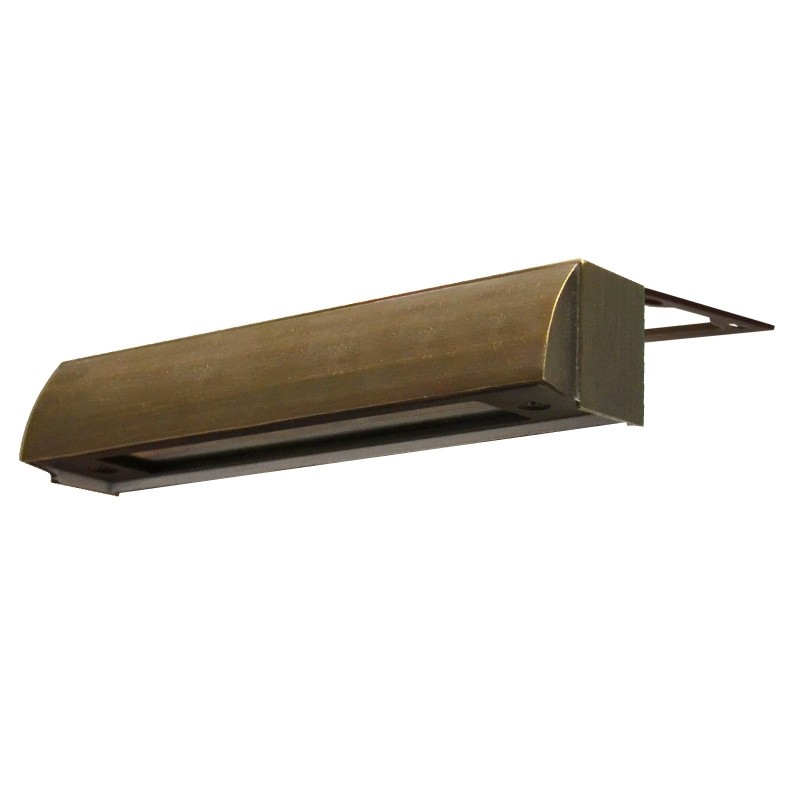 Charleston Edge Under Cap Light - Brass (Rustic Bronze Finish) - 12 volt