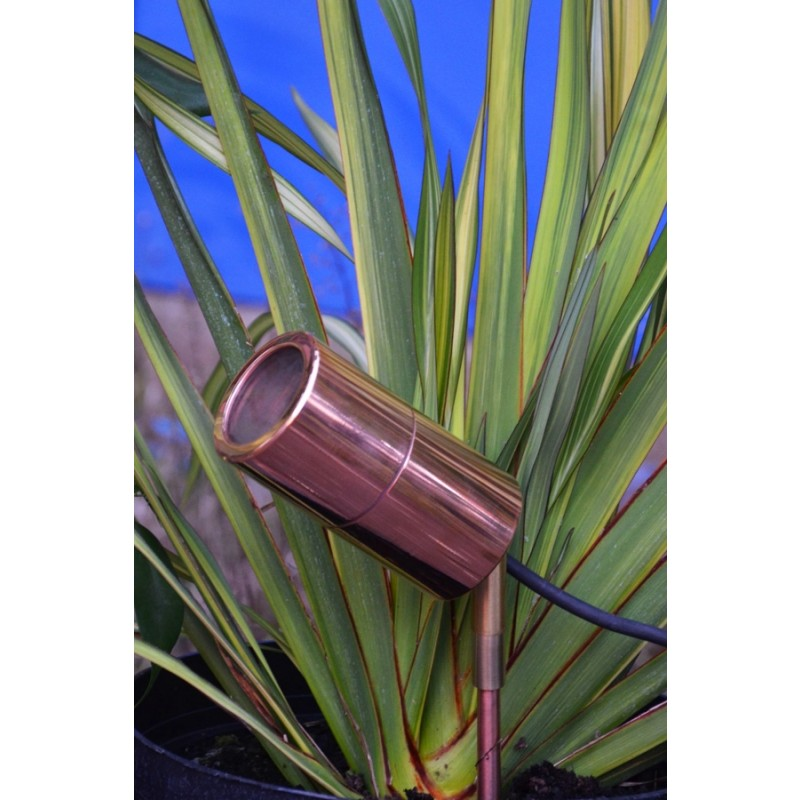 Garden Spot LightSmartspike 60 - GU10 60mm Spike Light, Copper (2m)